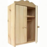 Шкаф для кукол дерево /Ясюк/