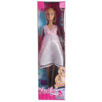Кукла 99222 Anlily беременная с аксесс., в кор.