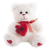 Мишка Гарри с сердечком 20 см. 40-DN17-0055-2-20 ButtonBlue