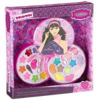 Набор косметики Eva Moda Косметичка-диск с зеркальцем 10678F2 Bondibon