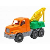 Автомобиль Добрыня Экскаватор оранжевый 20см И-3336