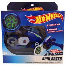 Hot Wheels Spin Racer Синяя Молния пуск. механизм с диском, син. Т19373