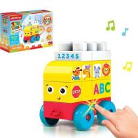 Игрушка музыкальная Автобус Talky Blocks кнопочка 4630027291721