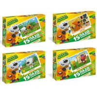 Пазл 15 МиМиМишки Мишки за работой 03496 Origami