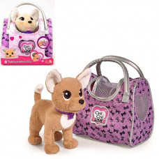 Chi-Chi love Собачка Чихуахуа Путешественница с сумкой-переноской 20см 5893124