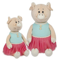 Свинка Даша в ярком платье 21 см MT-MRT031806-21