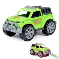 Автомобиль Легионер зеленый в сетке 87614 П-Е /16/