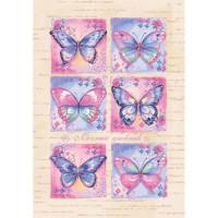 Дневник личный Бабочки А6 192л. 45462