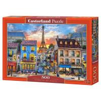 Пазл 500 Улицы Парижа В-52684 Castor Land