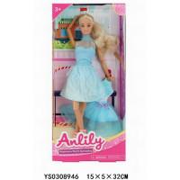 Кукла 99282 Anlily с платьем в кор.