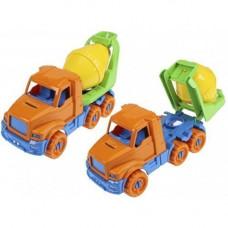 Автомобиль Добрыня Бетоновоз Оранжевый 20см И-3332