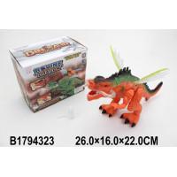 Динозавр3320  С дымом на бат. в кор.