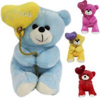 Медведь 25см с воздушным шаром 141-832С