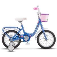 "Велосипед 2-х 14"" Flyte Lady голубой Z011 /STELS/"