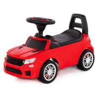 Каталка-автомобиль SuperCar №6 со звуковым сигналом красная 84590 П-Е /1/