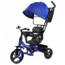 Велосипед 3-х PILOT PT1B синий пластик. колеса 10/8