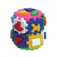 Логич.игрушка Куб Умный малыш Т2001 /интелком/