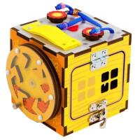 Дер. Развивающая игра Бизи-кубик IG0290