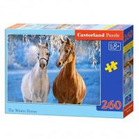 Пазл 260 Лошади зимой В2-27378 Castor Land
