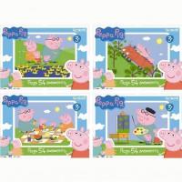 Пазл 54 Peppa Pig мини 01595 Origami /64/