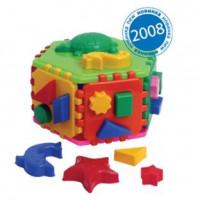 Логич.игрушка Куб умный малыш Гиппо Т2445 /интелком/22