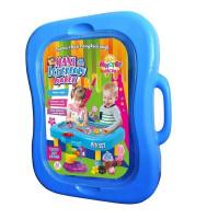 Набор ДТ Тесто для лепки Мистер тесто - Maxi Ice cream maker голубой 71210