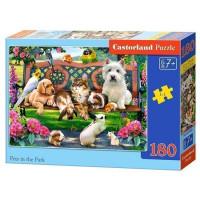 Пазл 180 Животные в парке В1-018444 Castor Land