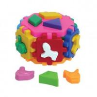 Логич.игрушка Куб Гексагон-2 Т1998 /интелком/