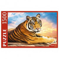 Пазл 1500 Большой тигр на закате ГИП1500-0628
