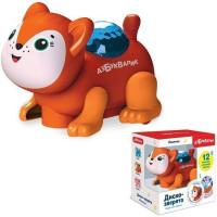 Лисичка Диско-зверята 4680019284590 Темно-оранжевая