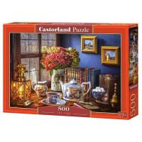 Пазл 500 Вечерний чай В-53070 Castor Land
