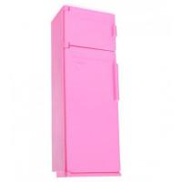 Мебель Холодильник Розовый С-1385 Огонек