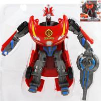 """Робот-трансформер 2 в1, """"Полиция"""" трансформируется в машинку M0682-2"""