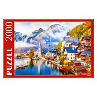 Пазл 2000 Австрия.Гальштат на рассвете ПИ2000-3696
