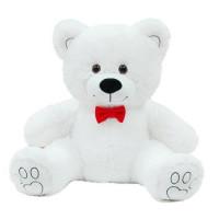 Медведь Валентин 70 см белый МВН-70б