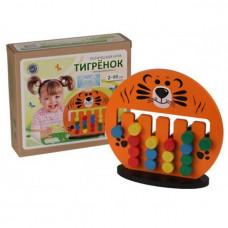 Дер. Логич. игрушка Тигренок Ли-05