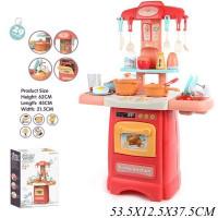 Игровой набор Кухня кран с водой, свет, звук, в компл.29 предметов JB0208129