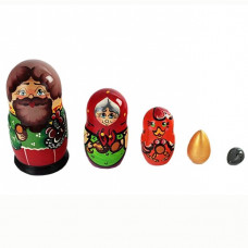 Дер. Матрешка Курочка Ряба 5 шт. Р-45/743
