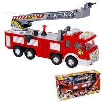Машина на бат.753SY Пожарная с водичкой в кор.