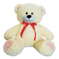 Медведь Патрик 80 см чайная роза МПК-80чр