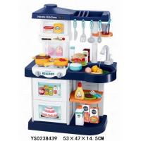 Игровой набор 37R-WD Кухня с водичкой и паром в кор.