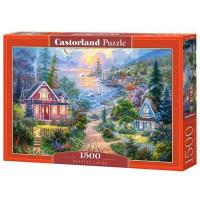 Пазл 1500 Прибрежный городок С-151929 Castor Land