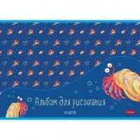 Альбом д/рис. 40 л. В синем море 40А4В Hatber