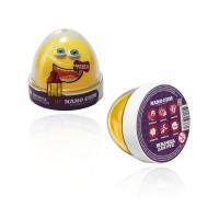 Жвачка для рук Nano gum Светится желтым 50 гр.