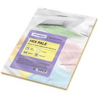 Бумага цвет 5цв. pale mix А4, 80г/м2, 100л. OfficeSpace