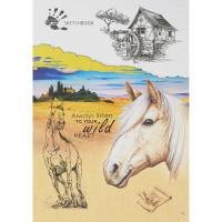 Скетчбук 4665301767913 Рисунок лошади А5 48л
