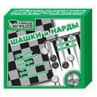 Игра Шашки/нарды (умные игры) 00104
