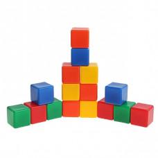 Набор кубиков 16 шт цветные 1200605