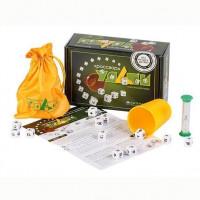 Игра настольная Эрудит Кроссворд удачи зеленый 10037