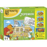 Пазл Теремок 5 пазла 2 в 1 Т802